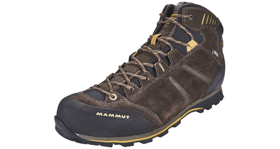 Mammut Wall Guide Mid GTX Boots Men bark-tuff